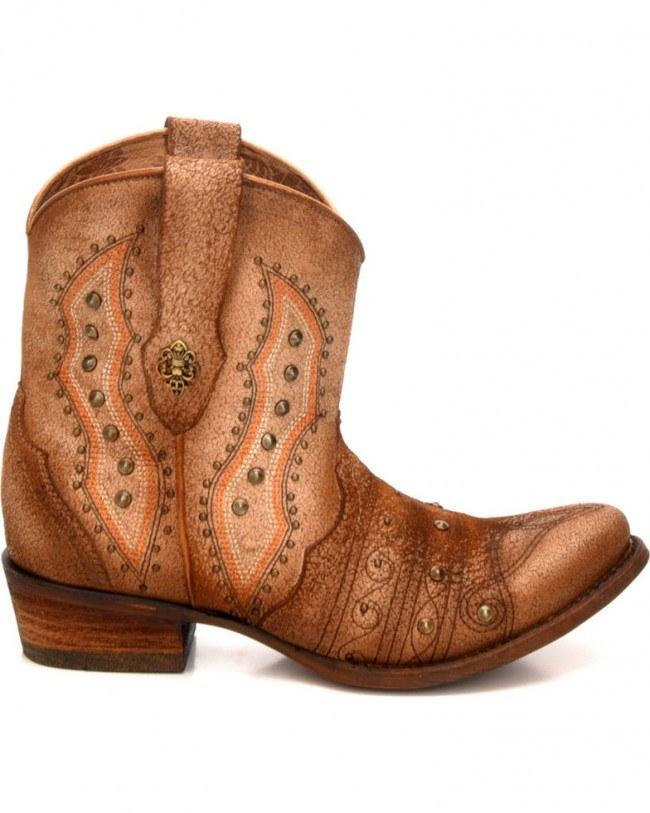 corral boots fleur de lis
