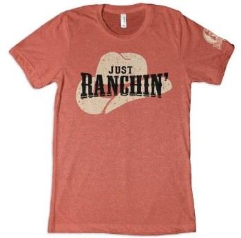 Just Ranchin Tee Clay S