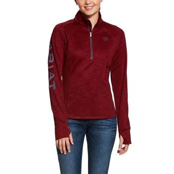 Ariat Tek Team 1/4 Zip Sweatshirt Red S
