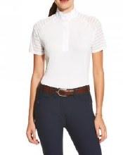 Ariat VentTek Short Sleeve White Show Shirt S
