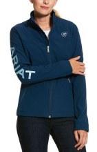 Ariat Team Blue Softshell Jacket Small