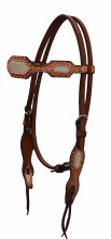Alamo Saddlery IC Headstall w. Toast Iridescent