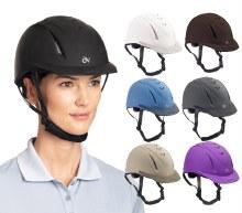 Ovation Black Deluxe Schooler Helmet Size M/L