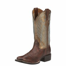 Ariat Round Up Wide Square Toe Boot Size 6.5