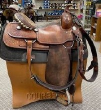 "Billy Cook Roper 16"" Used"