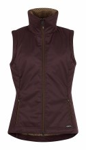 Bit of Puff Quilted Vest-Fig S