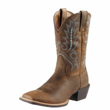 Ariat Sport Outfitter Western Boot Distressed Brown