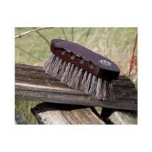 Tail Tamer Small  Wood Handled Horse Hair Brush