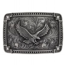 Montana Silversmiths Soaring Eagle Belt Buckle