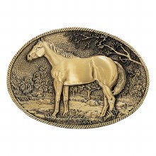 Montana Silversmiths Standing Horse Buckle