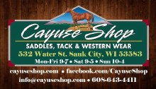Cayuse Shop Gift Card $20