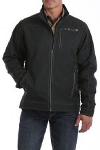 Cinch Textured Bonded Jacket Charcoal