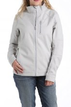 Cinch Textured Bonded Jacket Gray