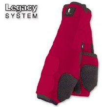 Classic Equine Legacy Front Red Med