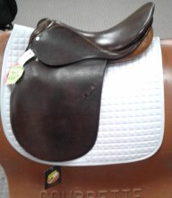 "Courbette Trenck A/P Saddle 18"" Used"