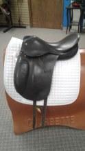"Crosby Dressage Saddle 17"" Used"