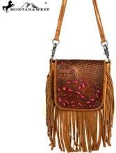 Montana West Phone Charging Crossbody Bag