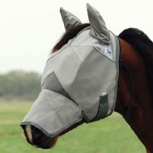 Crusader Fly Mask-Arab Size/Long Nose/w/Ears