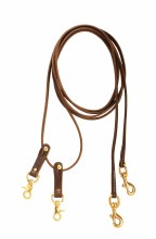 Pully Leather Draw Reins