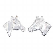 Montana Silversmiths Little Silver Horse Head Earrings