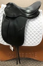 "Kent Dressage Saddle 17.5"" Used"