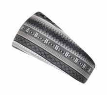 Fair Isle Headband Black