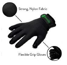 HandsOn Grooming Gloves Small - Black