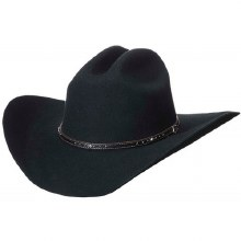 Justin Black Hills 2X Wool Hat