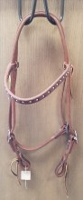 HEADSTALL BB W/SPOTS TIE ENDS