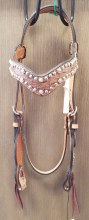 Alamo Saddlery Gator Headstall