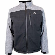 Hooey Softshell Jacket Black/Grey Large