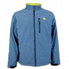 Hooey Youth Softshell Navy/Lime