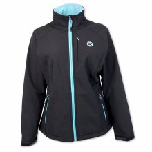 Hooey Youth Softshell Jacke Black/Turquoise