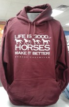 Horses Unlimited Better Hoody S