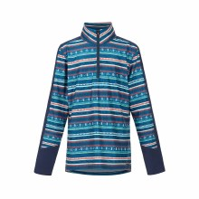 Kids FairIsle Fleece-Navy M