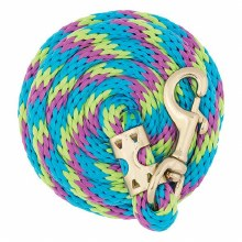 8' Lead Rope with Brass Snap