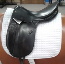 "CTD LeParcours Dressage Saddle 17.5"" Used"