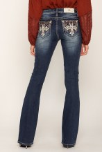 """Miss Me """"Diamond in the Rough"""" Bootcut Jean"""