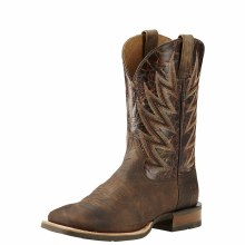 Ariat Western Boot Challenger Branding Iron Brown