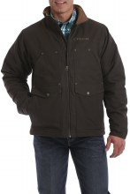 Men's Concealed Carry Contender Jacket Brown XL