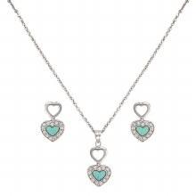Montana Double Heart Necklace