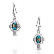 Montana Easter Cross Earrings