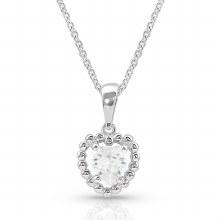 Montana Frozen Heart Necklace