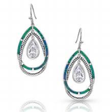 Montana Opal Ribbons Earrings
