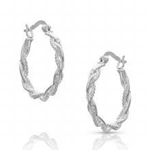 Montana Rope Hoop Earrings