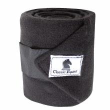 Classic Equine Black Polo Wraps
