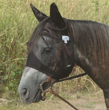Quiet Ride Fly Mask Standard w/ Ears Horse Size
