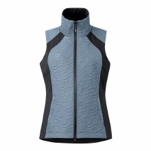 Kerrits Unbridled Quilted Vest Ash Blue Large