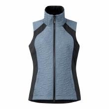 Kerrits Unbridled Quilted Vest Ash Blue Medium