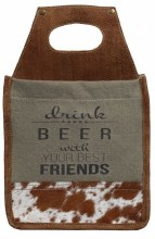 Best Friends 6-Pack Beer Caddy